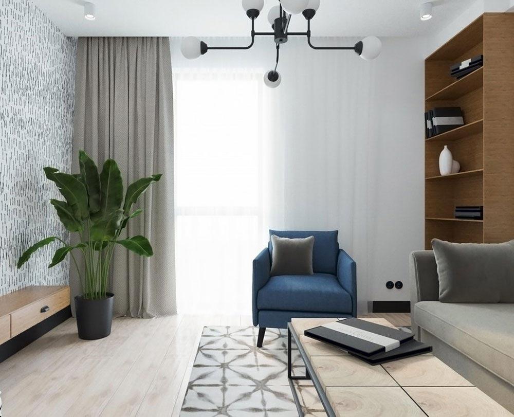 1-кімнатна квартира (45,57 м2)