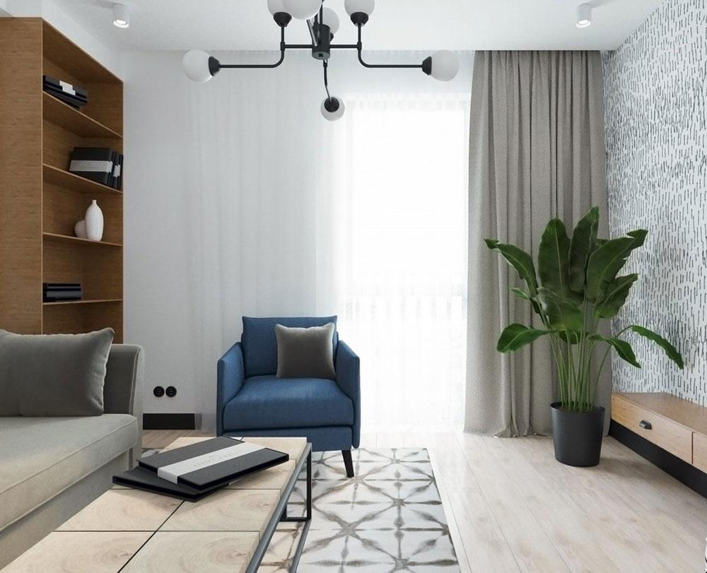 1-комнатная квартира (46,04 м2)